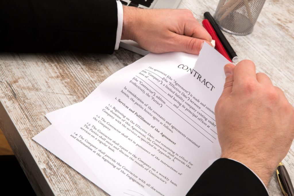 Writing A Simple Business Contract Termination Letter With